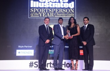 PV Sindhu wins Sportsperson of the Year 2017