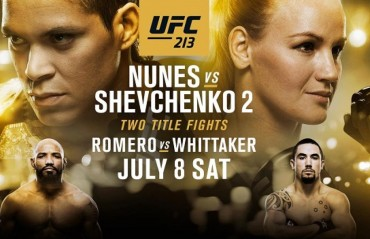 UFC 213: Things you should know About the Pay-Per-View