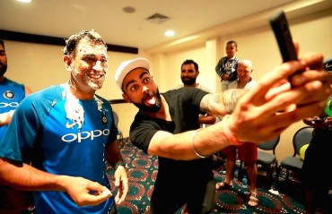 WATCH: Team India celebrates MS Dhoni's 36th in a special manner