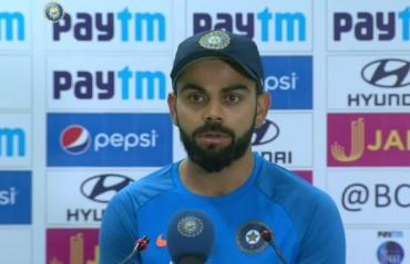 You don't deserve to win when you don't grab your chances: Kohli