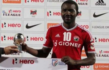 I-League top scorer Asier Dipanda to play for Mohun Bagan in the next season of the top division league