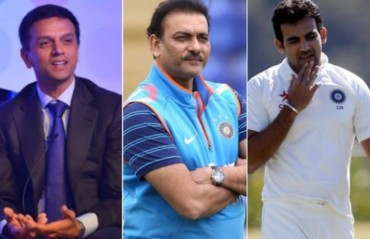 BCCI appoints Shastri as head coach, Dravid as overseas batting consultant, Zaheer as bowling coach