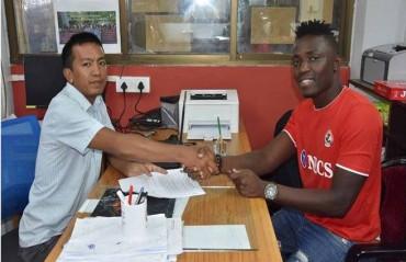 Aizawl FC welcomes Nigerian & former Minerva Punjab player Kareem Nurain