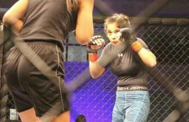 #TFGinterview: A Lioness among the Pride - In Conversation with Indian MMA fighter Akshata Khadtare