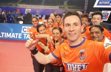 DHFL Maharashtra United win their UTT opener against Oilmax Stag Yoddhas