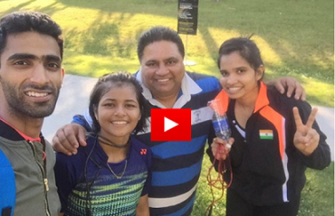 WATCH: Sikki Reddy & other shuttlers sweat it out ahead of US GPG