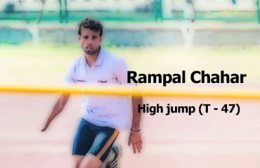 Rampal Chahar believes in equal education for the differently-abled