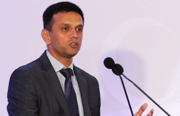 Realized at school I wasn't cut out for Hockey: Rahul Dravid