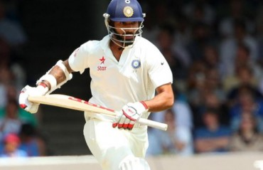 Injured Vijay out, Dhawan in for Sri Lanka Test series