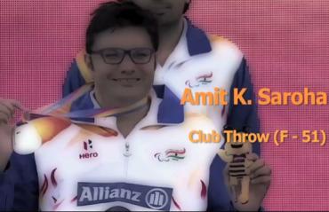 Amit Kumar Saroha bagged silver in club throw event; dedicates it to the Indian Army