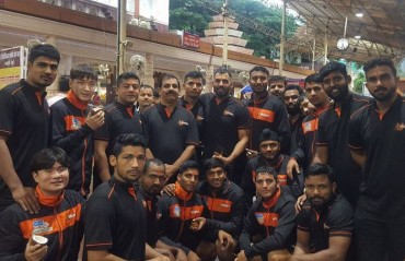 Back from Dehradun camp, U Mumba visit Siddhivinayak temple in Mumbai