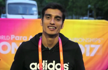 Sharad Kumar F-42 high jumper sees blessing in disguise in his disability