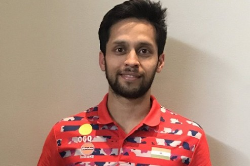 Kashyap happy with his performance at USA GPG, thanks coaches & fans for support