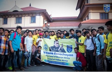 ISL 2017: WATCH -- A grand welcome for coach Rene in Kerala from KBFC fans