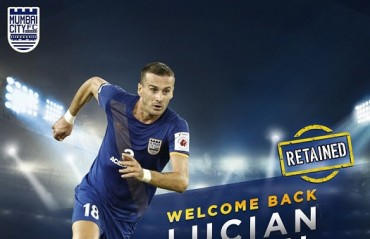 ISL 2017: Mumbai City FC retain defender Lucian Goian