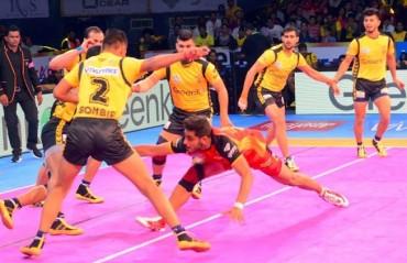 Pro Kabaddi: Dominant Bengaluru Bulls overcome Telugu Titans 31-21