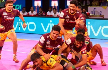 Pro Kabaddi: Comfortable opener for UP Yoddha as they beat Telugu Titans 31-18