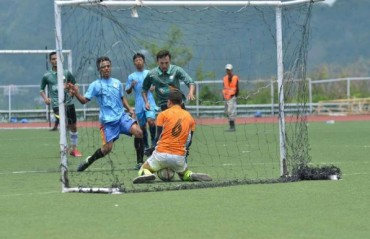 Aizawl FC suffer shock defeat to Dinthar FC in MFA's Independence Day Football Tournament