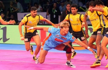 Pro Kabaddi: Bengal Warriors open campaign with a 30-24 win; Telugu Titans suffer record 4th consecutive loss