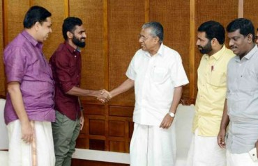 Vineeth offered state government job from the Kerala CM