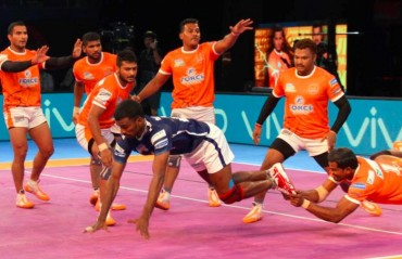 Pro Kabaddi: Dabang Delhi go down 26-21 against all-round Puneri Paltan