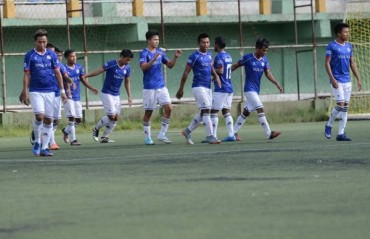 Chanmari FC win Derby, reach semis in Independence Day Football Tournament