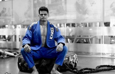 #TFGinterview: The story of Indian BJJ prospect Anjan Raman and how you can help him