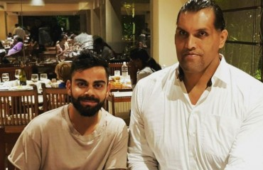 WATCH: How The Great Khali mesmerised Virat Kohli