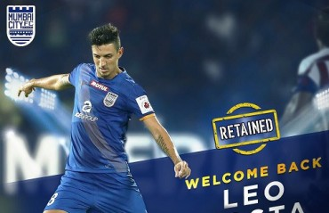 ISL 2017: Leo Costa is Mumbai City FC's latest retained foreigner