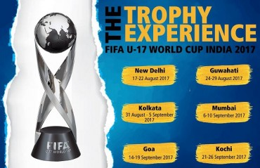 Indian fans will get to see FIFA U-17 WC trophy up close starting this month