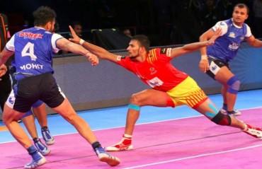 Pro Kabaddi: 'SUMO' help Haryana Steelers down Gujarat FortuneGiants 32-20