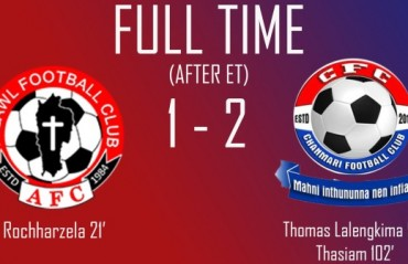 Chanmari FC pull off a late comeback to defeat Aizawl FC, reach final of Independence Day Football Tournament