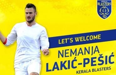 ISL 2017: Kerala Blasters FC sign Serbian defender Nemanja Lakic-Pesic