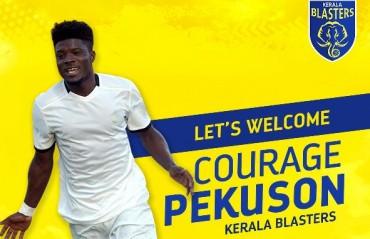 ISL 2017: 22 year-old Ghanian midfielder Courage Pekuson joins Kerala Blasters
