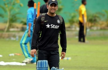 Dhoni attends training at NCA, clocks 20 metres in 2.91 seconds