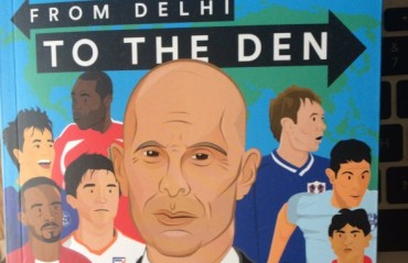 Review: From Delhi to the Den by Stephen Constantine -- a nomad's adventures in world football