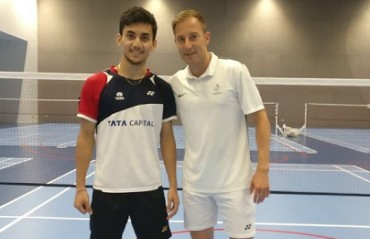 Youngster Lakshya Sen set to train under Danish legend Peter Gade