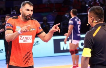 Captain cool anup kumar the man behind u mumbas success in aim is to learn from mistakes and bounce back stronger anup kumar thecheapjerseys Gallery