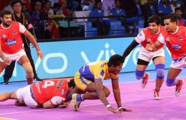 Pro Kabaddi: Haryana Steelers Tamil Thalaivas play out a thrilling 25-25 draw