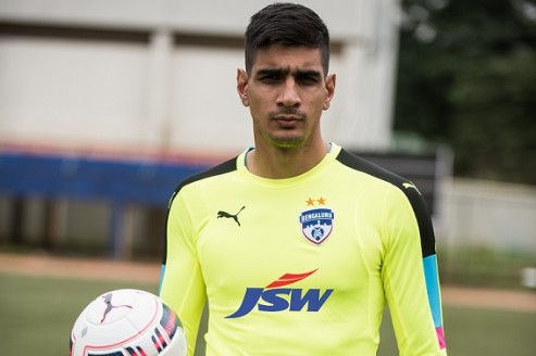 Bengaluru FC sign India's No.1 Gurpreet Singh Sandhu