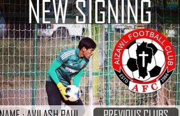Aizawl FC sign former East Bengal young keeper Avilash Paul