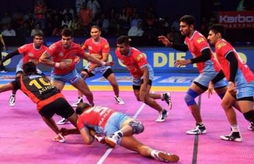 Pro Kabaddi: Jaipur overcome Bengaluru 30-28 courtesy of Manjeet Chhillar's stellar defensive show