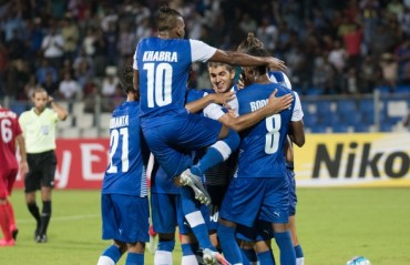 AFC Cup 2017: Bengaluru FC claim historic win over April 25th SC on another rainy night at Kanteerava