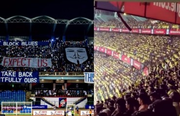 #TFGtake - Kerala Blasters & Bengaluru FC fan feud -- the trick is to play it right, not play it down