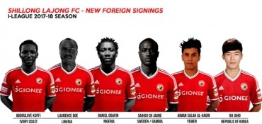 I-League 2017: Lajong's 'serial announcement' about all six foreign players