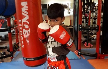 Like father, Like Son: Meet the MMA Kid, Basil, son of Indian MMA fighter Abdul Muneer