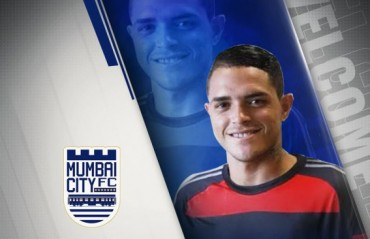 ISL 2017 - Mumbai City FC sign 22 year old Brazilian Thiago Santos