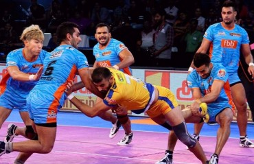 Pro Kabaddi: Bengal Warriors remain unbeaten at home, beat Tamil Thalaivas 29-25