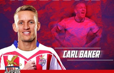 ISL 2017: Ex-Portsmouth midfielder Carl Baker signs for ATK