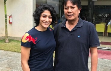 Ashwini Ponnappa happy to be re-united with her first coach